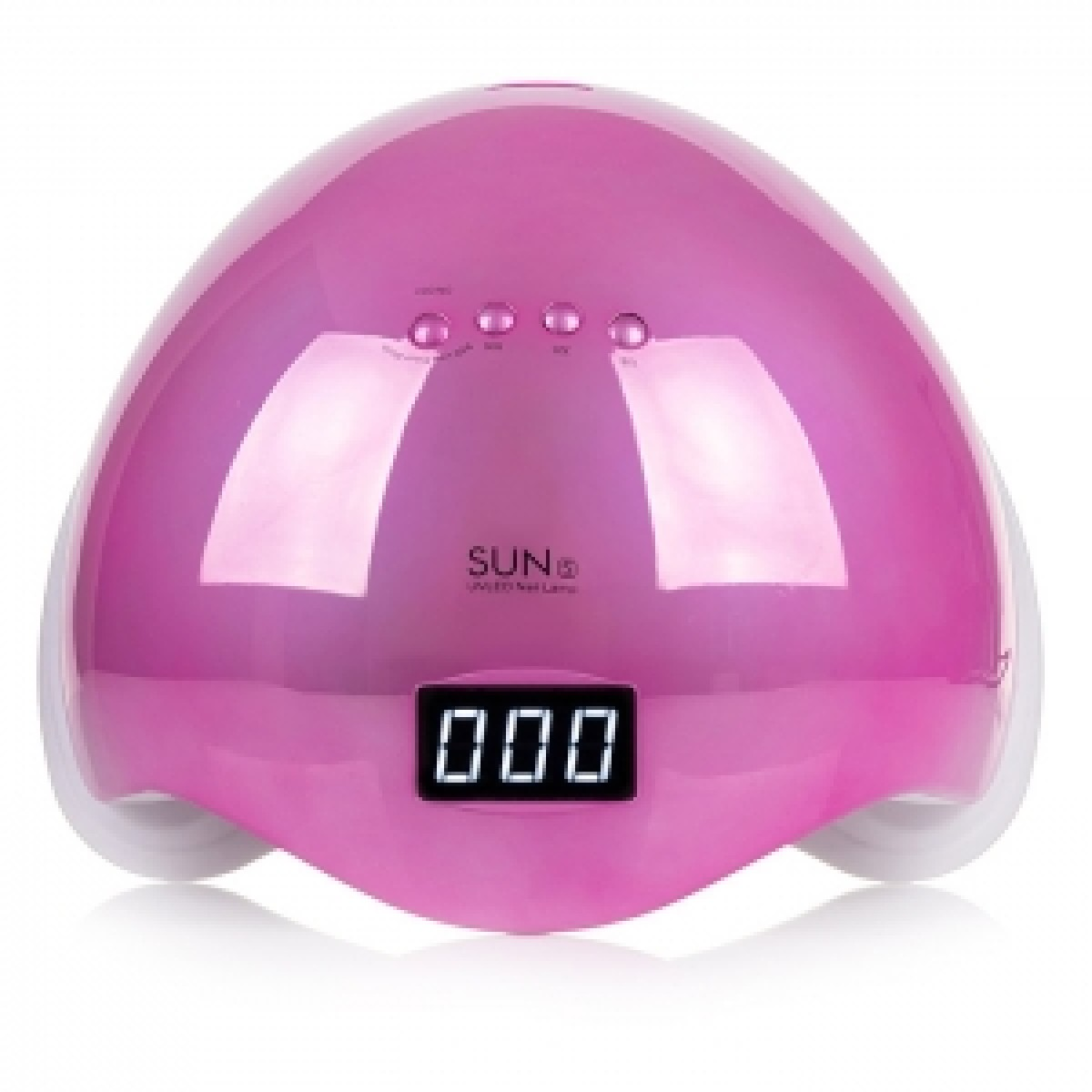 LED+UV Lamp SUN 5 48W Mirror Pink (зеркальная)